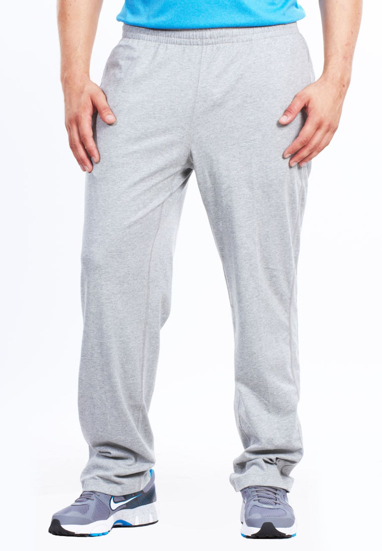 Shop Nike grey Open Hem Trackpant 433724-063 for Men in Saudi - NI727AT06HLX dee365cf3