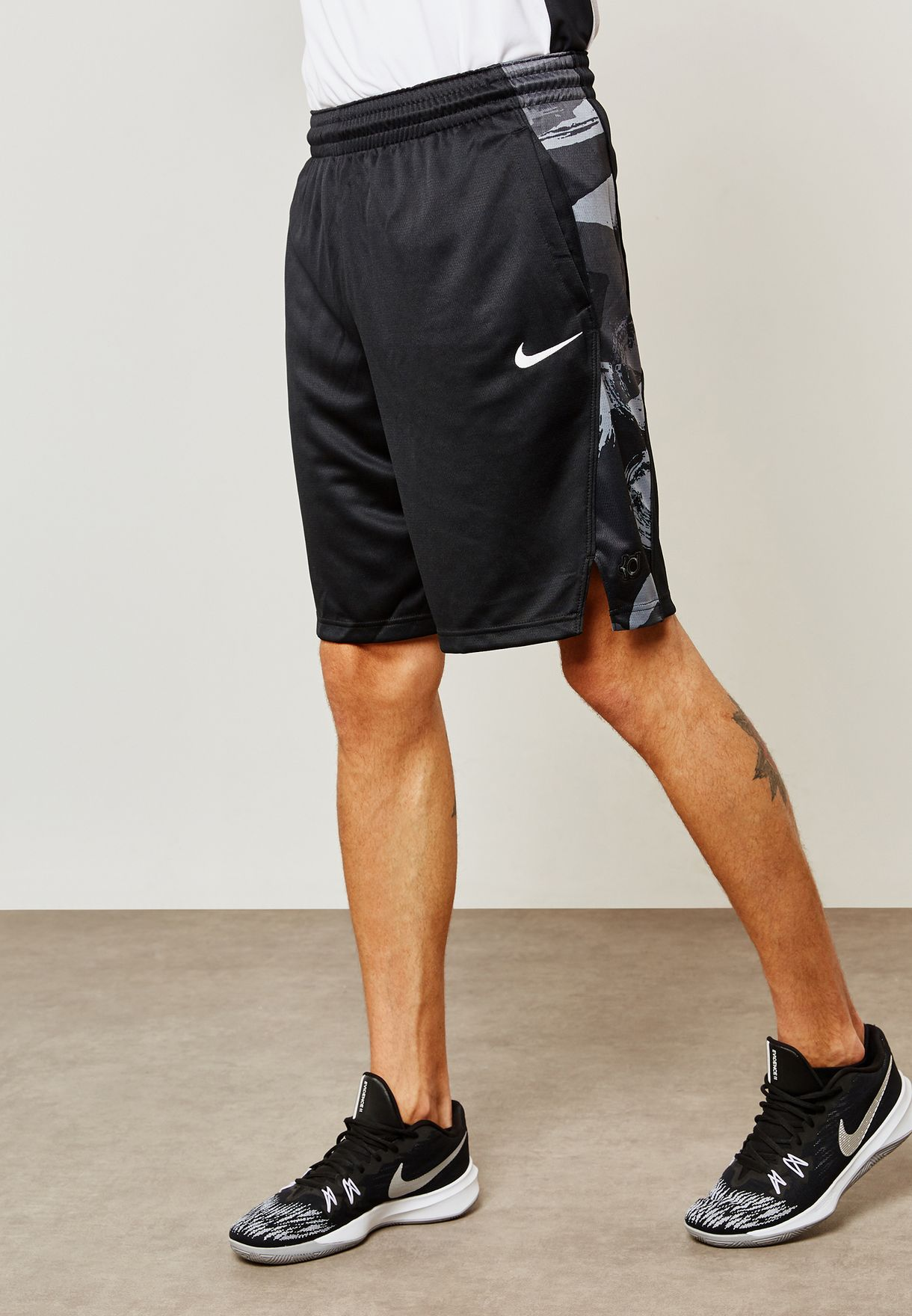free shipping 63057 bea94 Shop Nike black KD Elite Shorts 926214-010 for Men in UAE - NI727AT06LXL