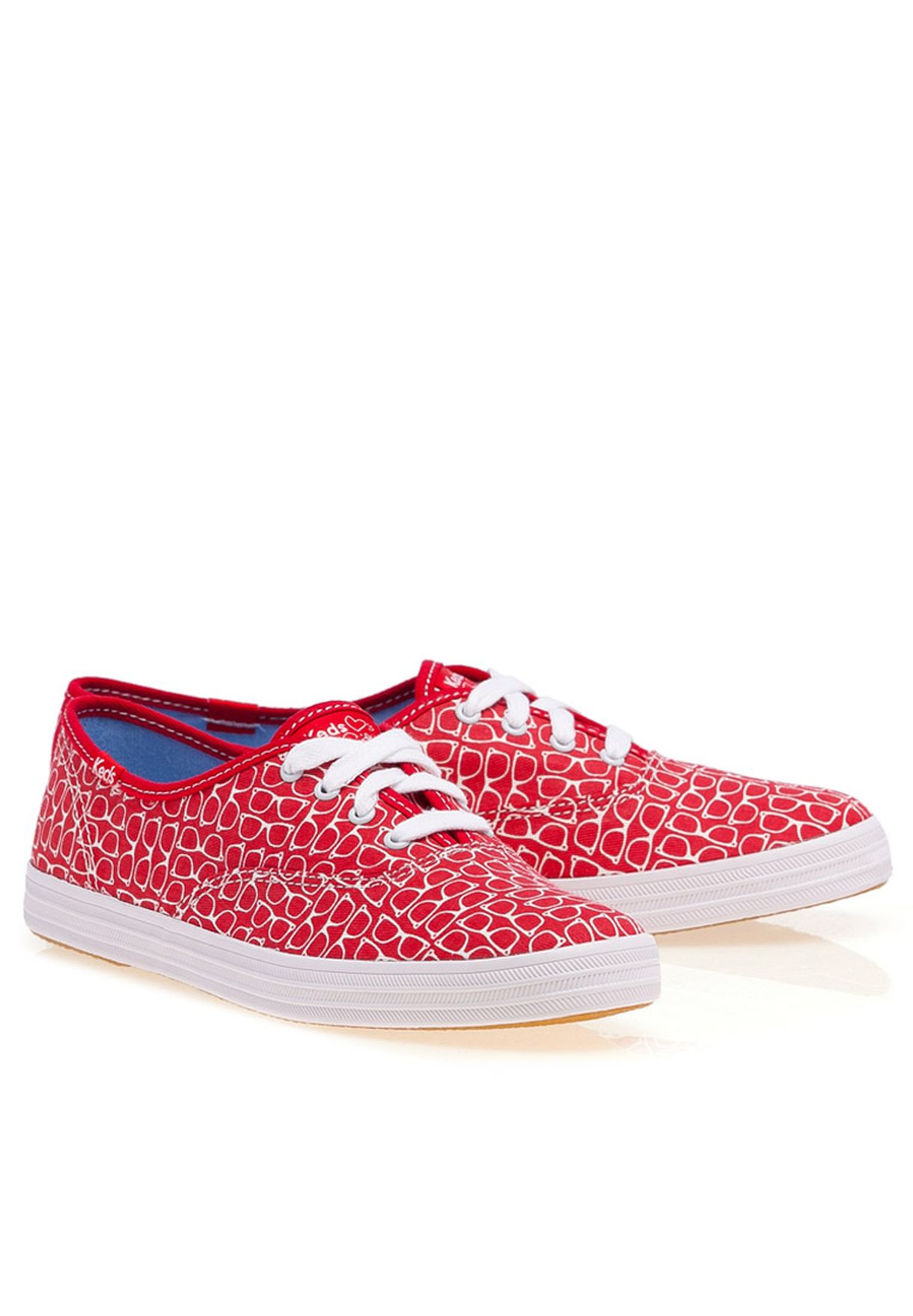 edb8f7b5249f Shop Keds red Taylor Swift Champion CVO Sneakers for Women in UAE ...