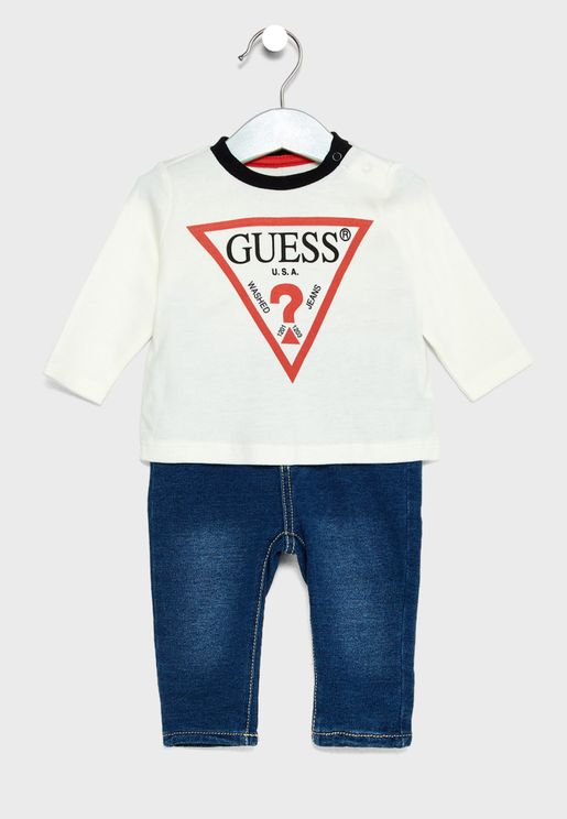 Infant T-Shirt + Pants Set