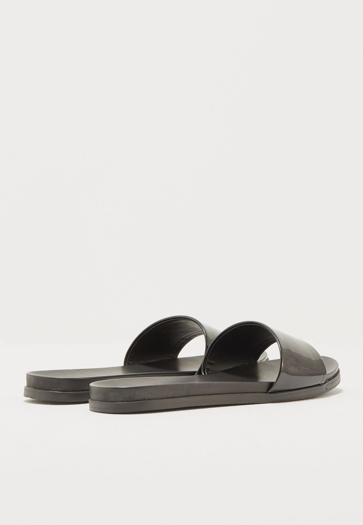 adee97df313 Shop Aldo black Fabrizzia Slide FABRIZZIA U95 for Women in Qatar ...