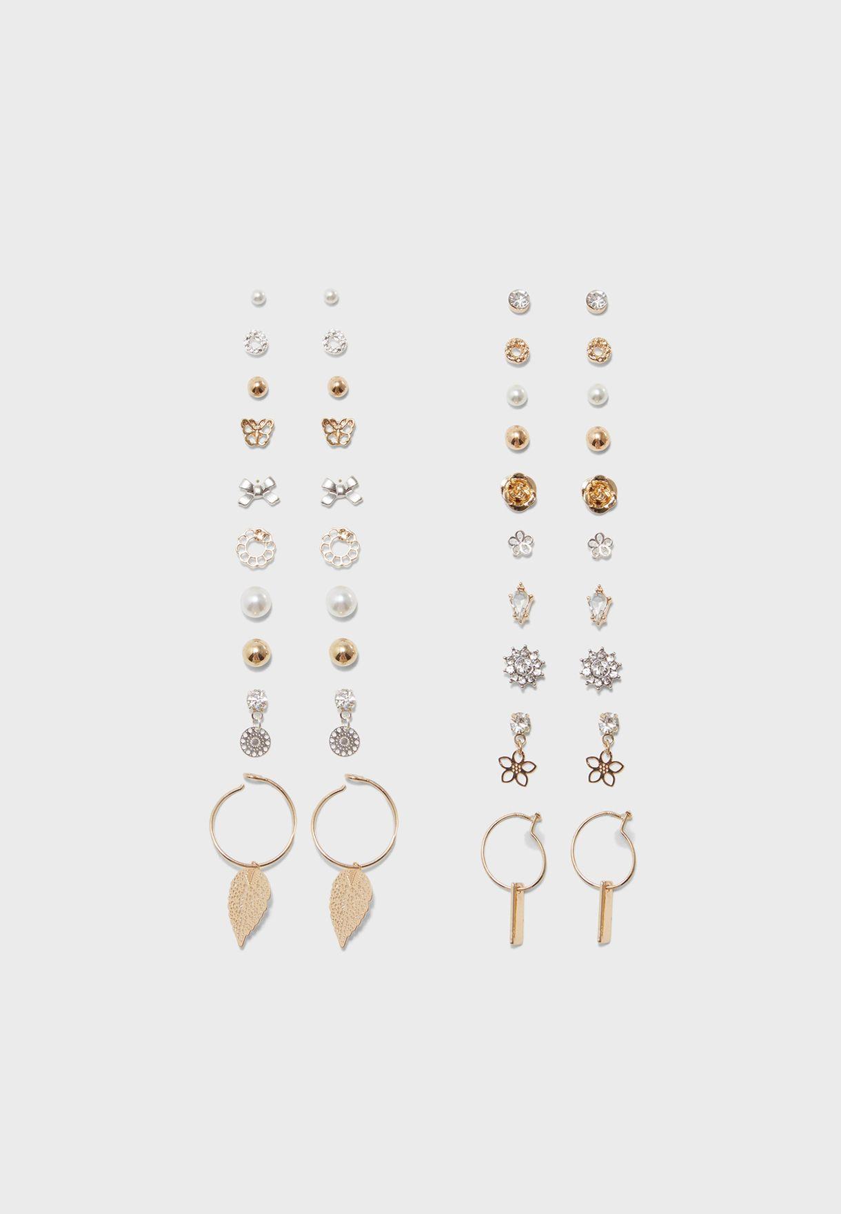 ef06353fa Shop Aldo gold Multipack Groadia Stud Earrings GROADIA86 for Women ...
