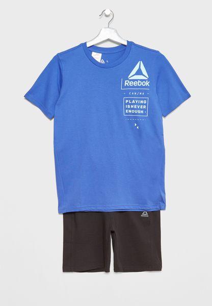 Kids Essential T-Shirt+Shorts Set