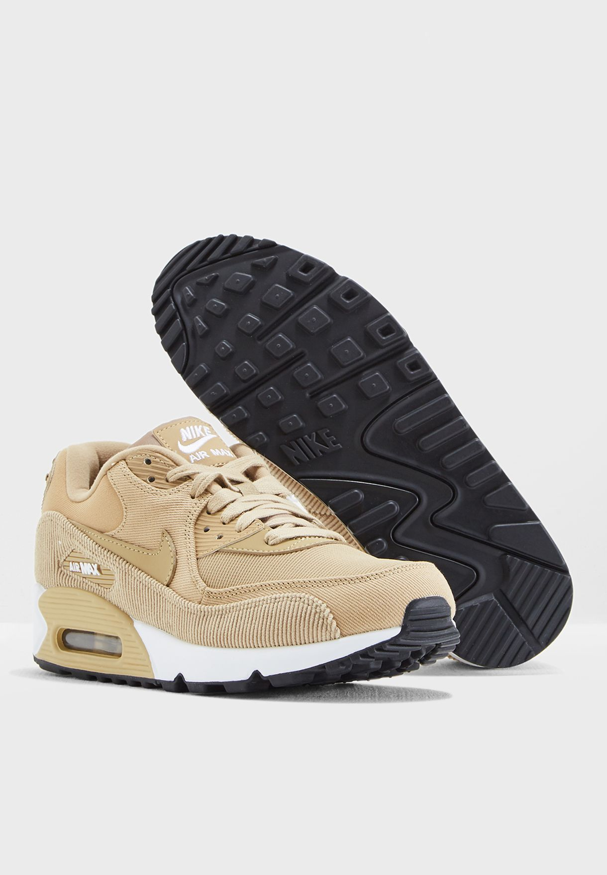 new product 19b61 1f942 Shop Nike beige Air Max 90 Lea 921304-200 for Women in UAE ...