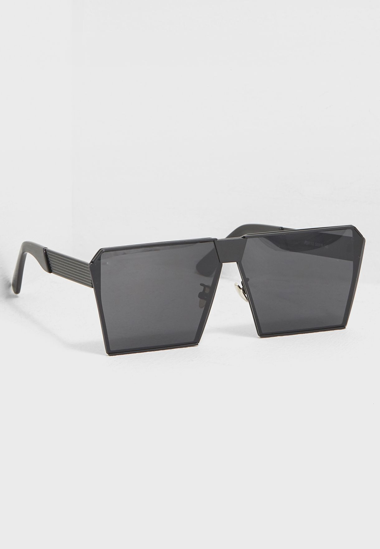 0e2d5532d77 Shop Seventy five black Square Sunglasses JR66103 for Men in Saudi -  SE177AC06IPX