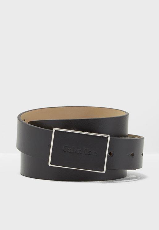 Adjustable Calvin Plaque Belt
