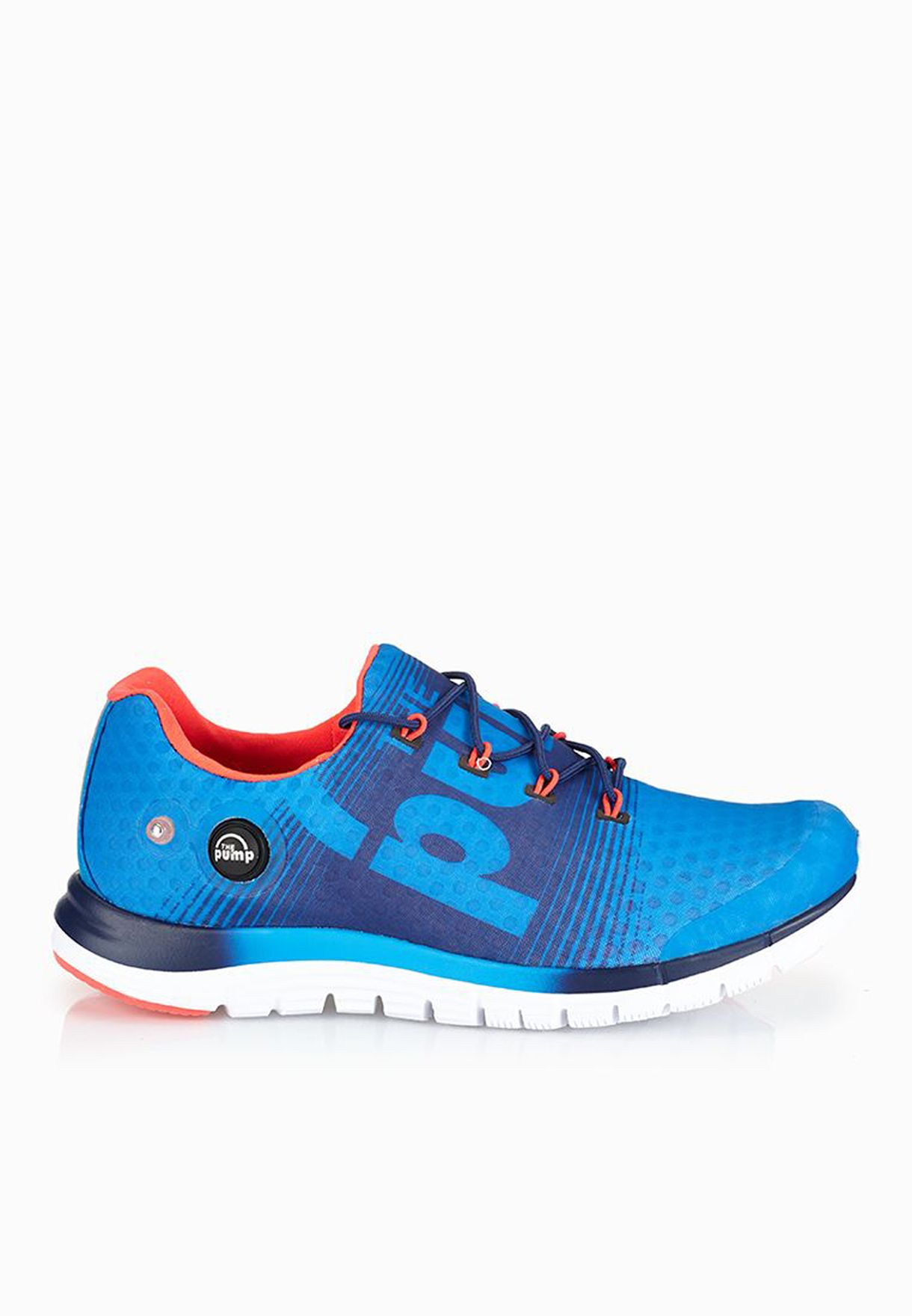 3be1dc66 Shop Reebok blue Zpump Fusion V66480 for Men in Oman - RE019SH06ART