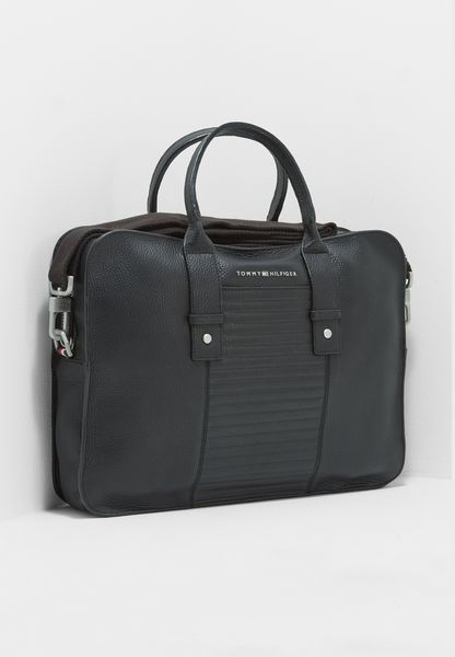 Tailored Leather Laptop Bag