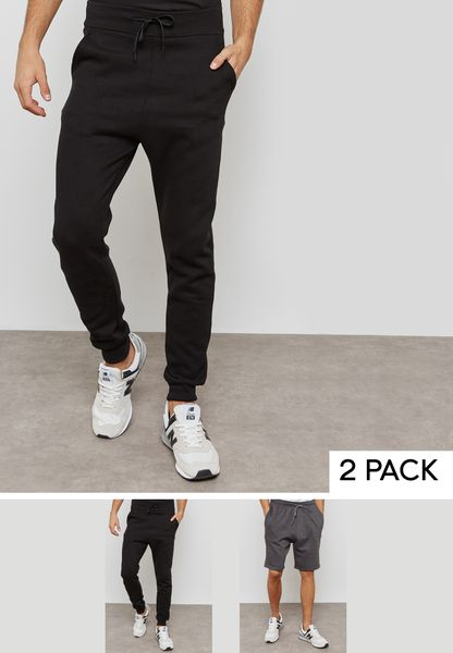 Essential Sweatpants And Shorts Set