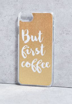 iPhone 7 But First Coffee Cover