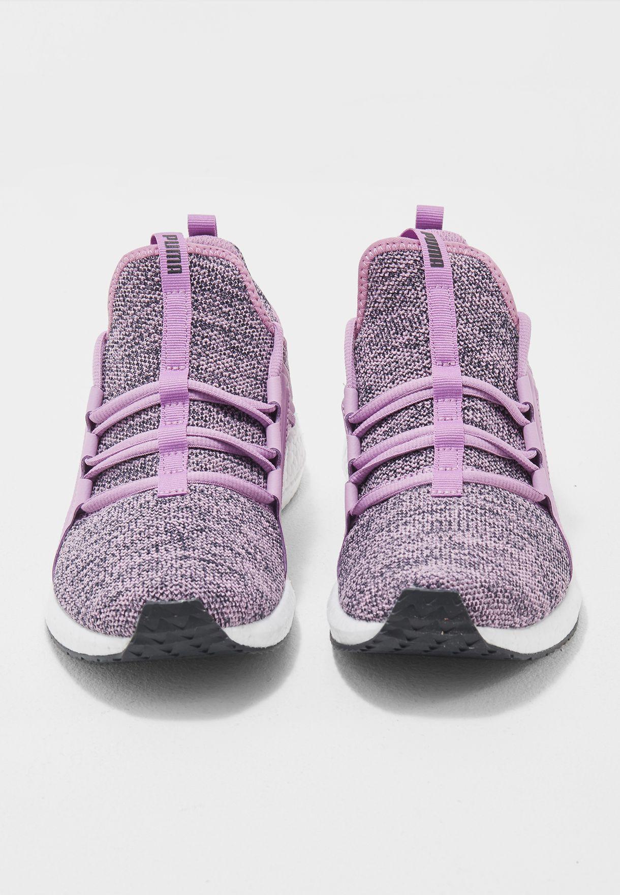 da55e1c7cb9ce5 Shop PUMA purple Mega NRGY Knit 19037302 for Women in Bahrain ...
