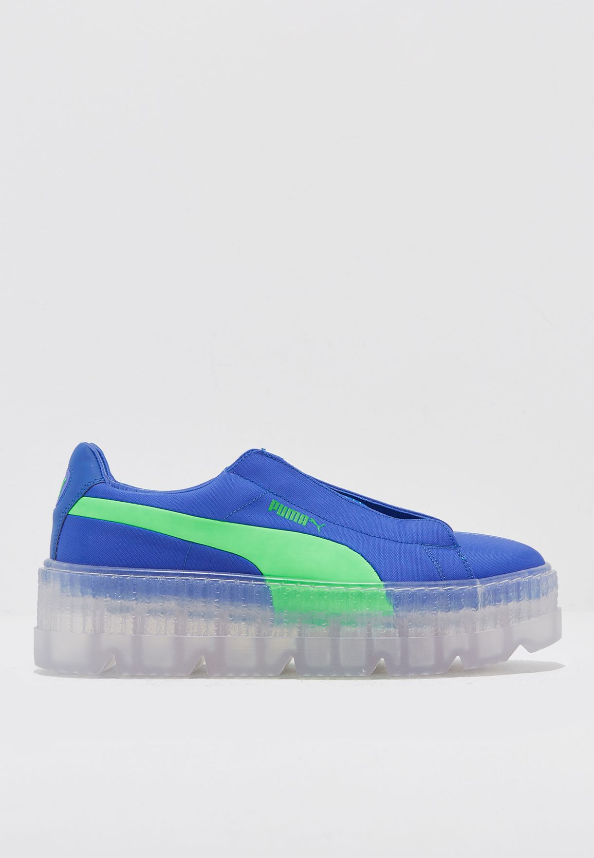 Shop PUMA x Fenty blue Surf Cleated Creeper 36768101 for Women in ... f9d97f4a5