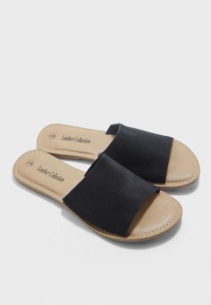 Flat Mule Sandal