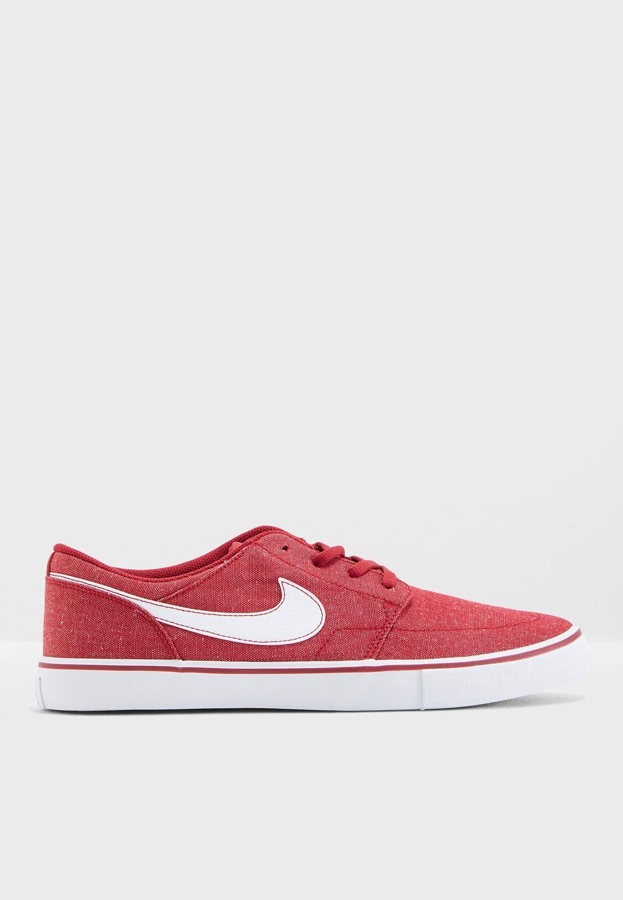 1823fd8af631 Shop Nike red SB Portmore II SLR 880269-600 for Men in UAE ...