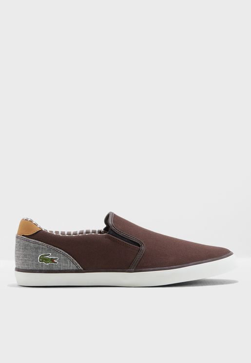 7eced2148f7d7 Lacoste Slip Ons for Men