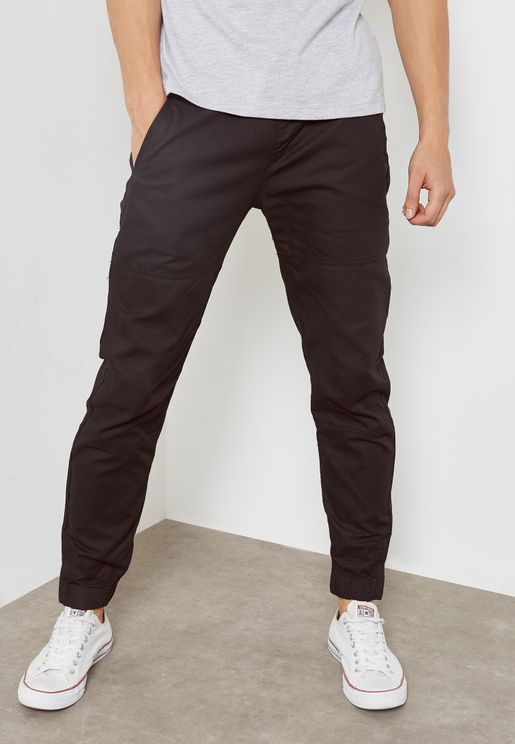 Cuffed Trouser With Back Pockets