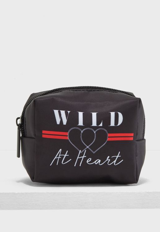 Wild At Heart Cosmetic Bag