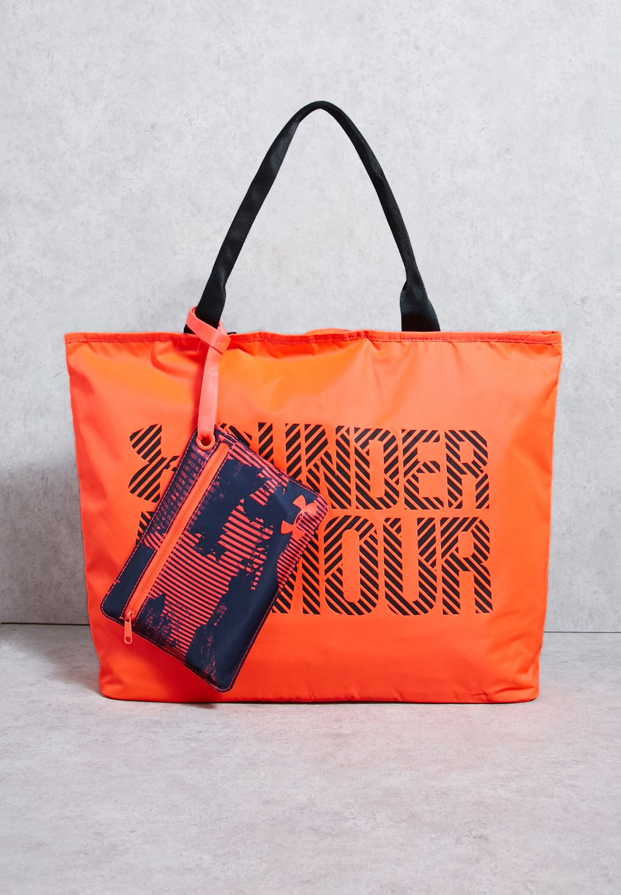 Shop Under Armour orange Big Wordmark Tote 1292112-963 for Women in Qatar -  UN700AC06ZJT 1f3fd279dbc20