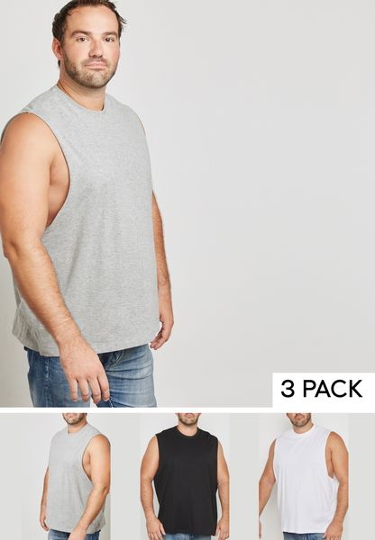 3 Pack Sleeveless Vest