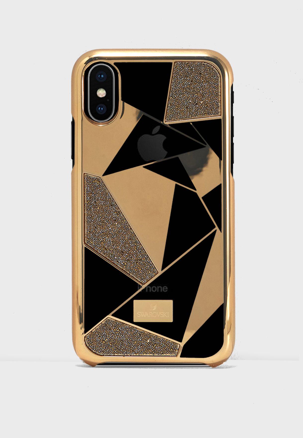 Shop Swarovski gold Heroism Bumper iPhone X Case 5392027 for Women in Saudi  - SW493AC06PVL 4d3fd7a97d