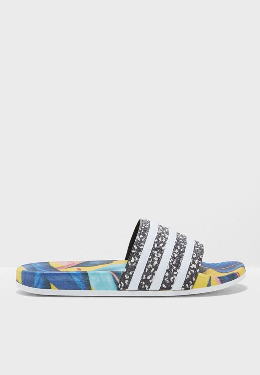 new product edb60 386cd Adilette. adidas Originals