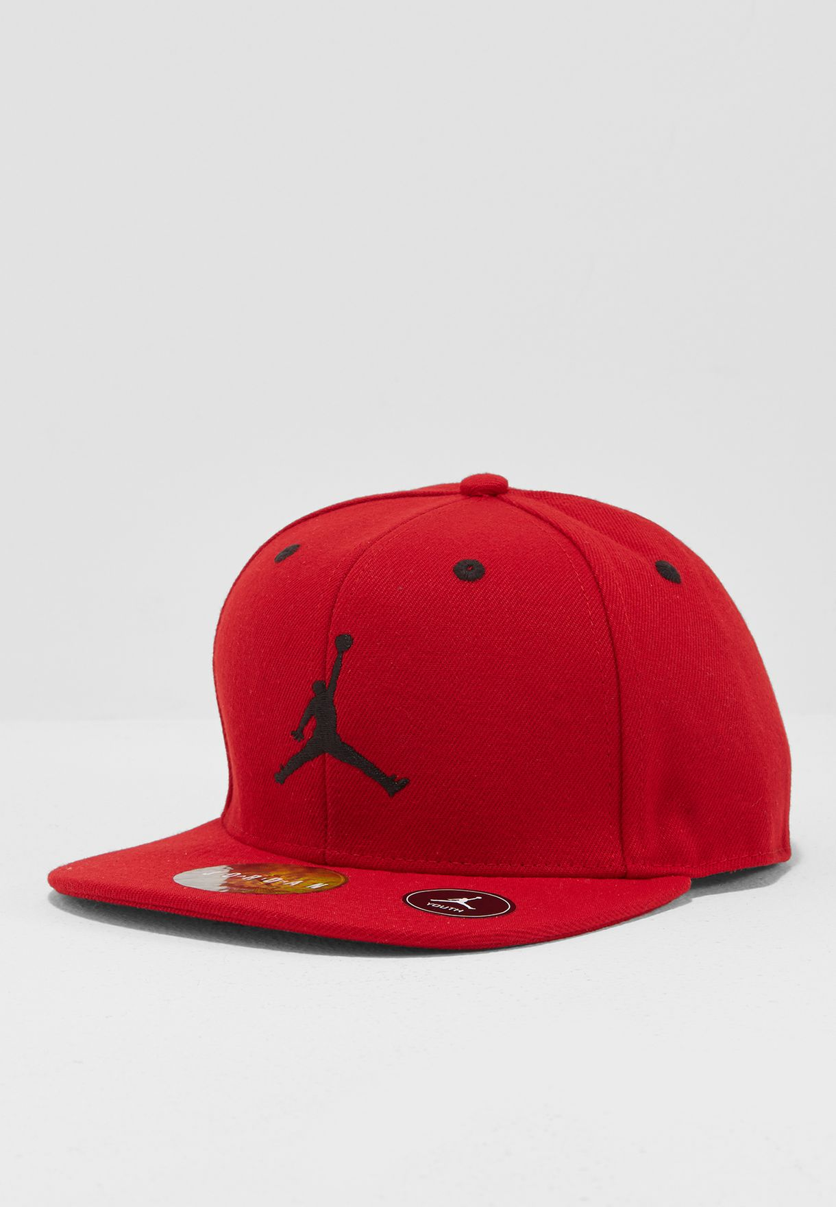 eaf46626162973 Shop Nike red Jordan Jumpman Snapback 9A1795-R78 for Kids in UAE ...