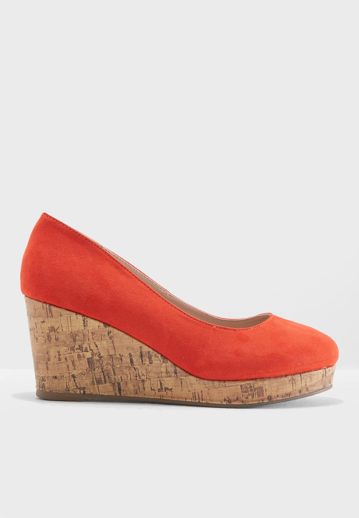MF Cork Wedge Sandal