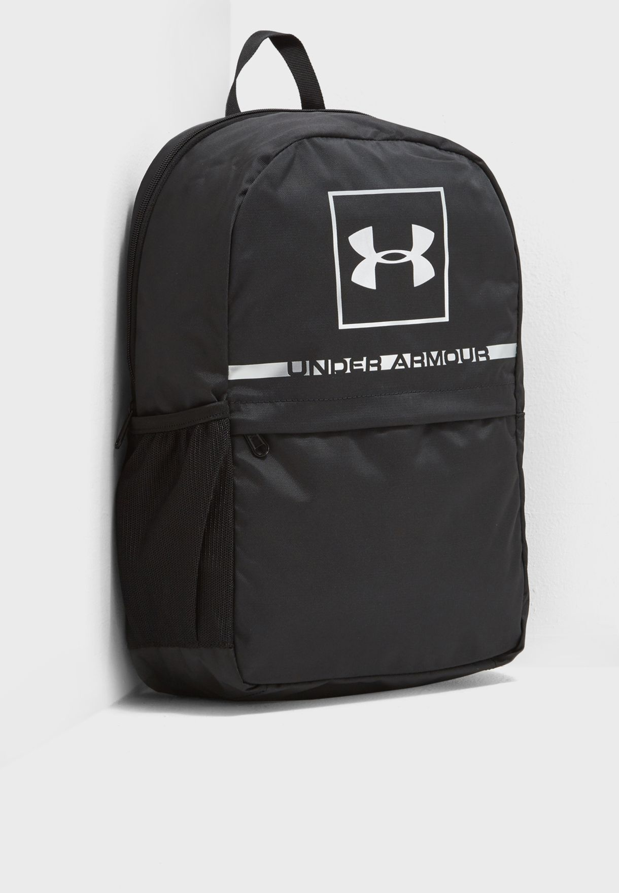 Shop Under Armour black Project 5 Backpack 1328058-003 for Men in ... 89b2bb68bbb7e