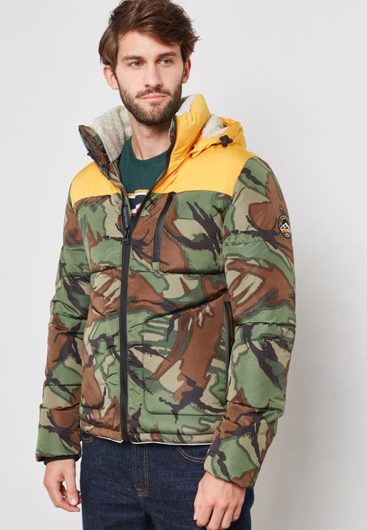 Expedition Hooded Camo Jacket