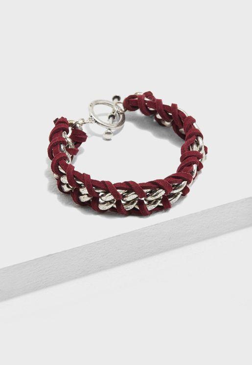 Twisted Mixed  Bracelet