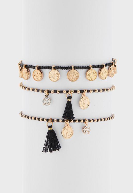 Multipack Abarella Bracelets