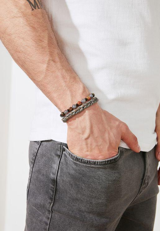 2-Piece Bijouterie Bracelet