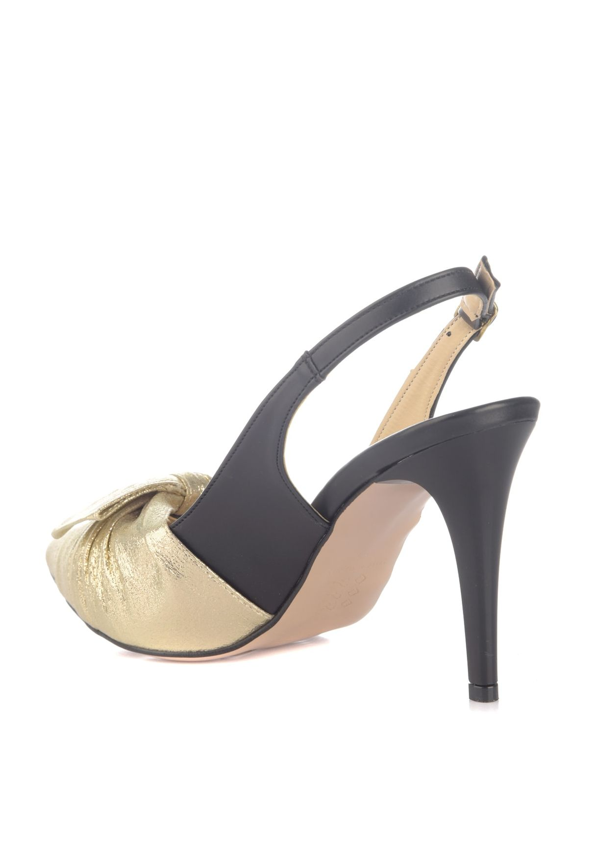 Bow Detail High Heel Pump