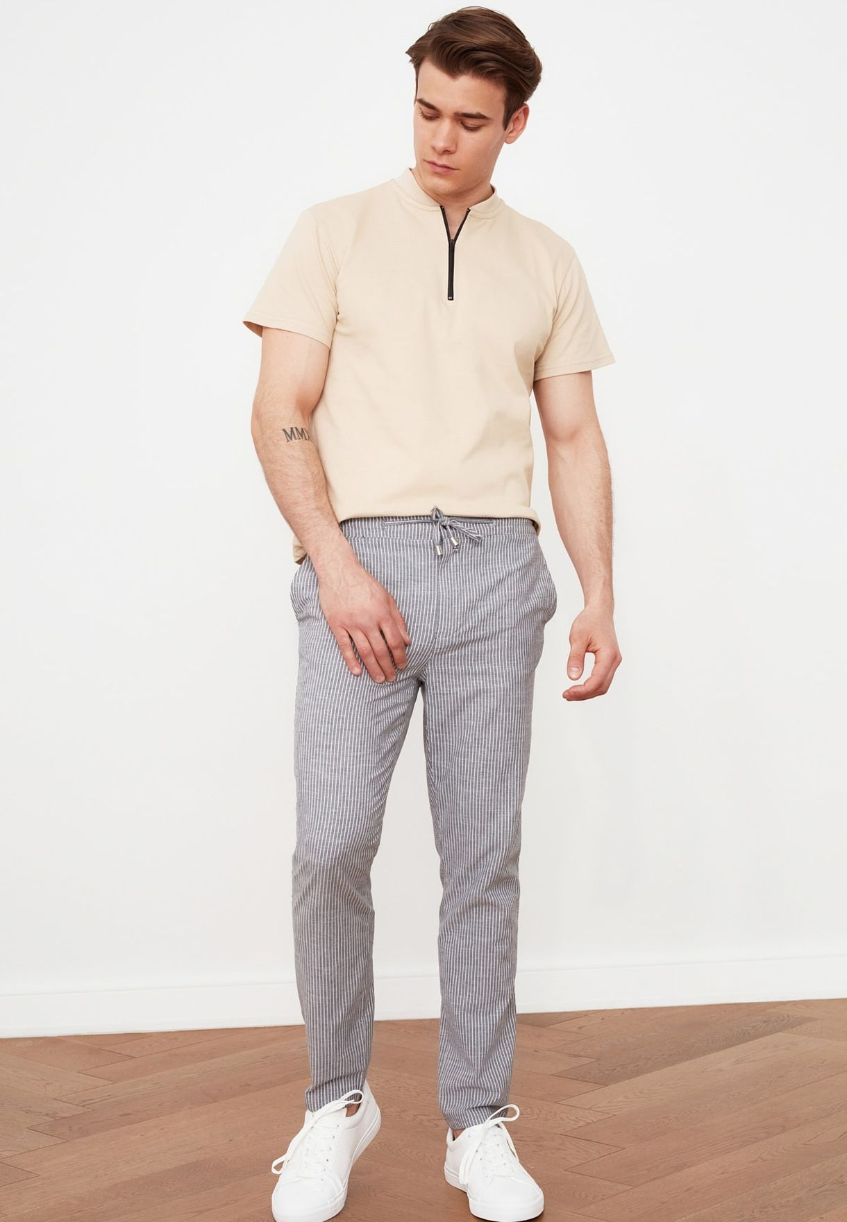 Essential Regular Fit Trousers