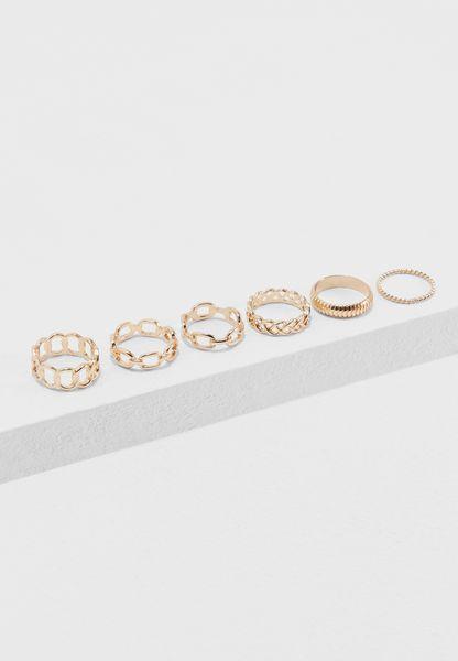 6 Pack Briercrest Rings