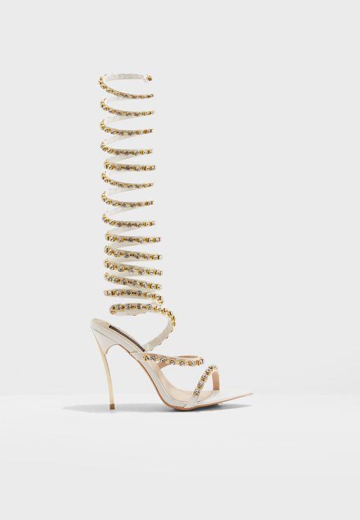Slinky Embellished High Heel