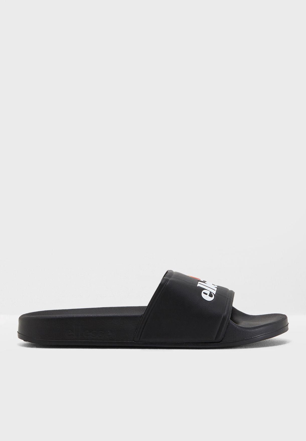 12faa8456b36 Shop Ellesse black Fillipo Slides SGFW0350 for Women in UAE ...