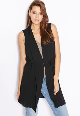 Dorothy Perkins Belted Sleeveless Jacket