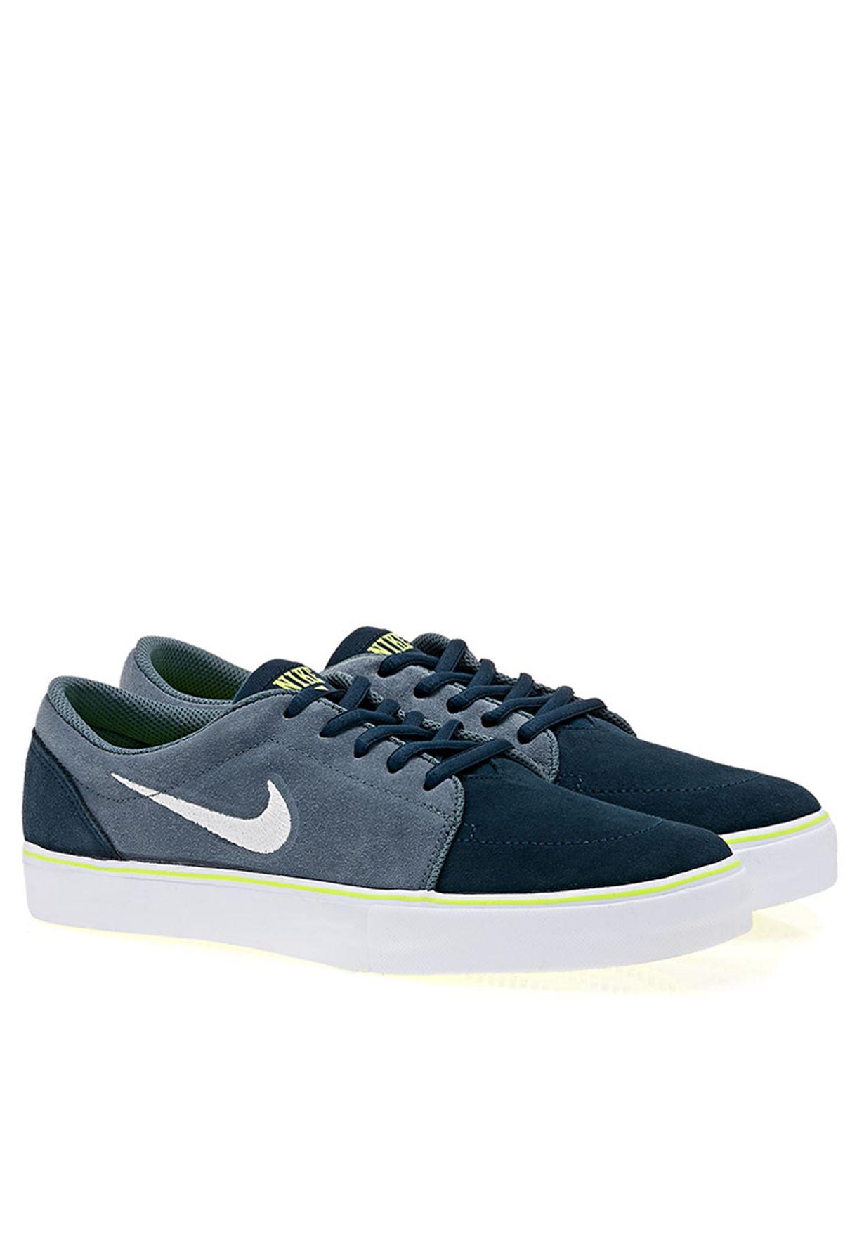 Minúsculo Mediana Agresivo  Buy Nike blue NIKE SATIRE Low Top Sneaker for Men in MENA, Worldwide    536404-443