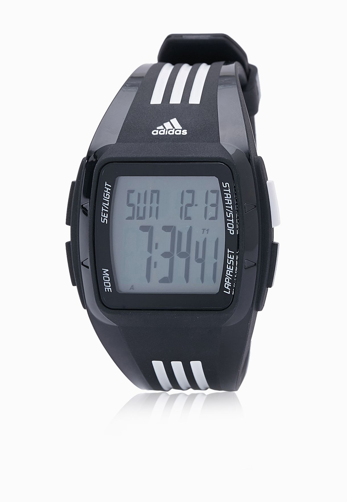 Shop adidas black Duramo Watch ADP6093 for Men in Qatar - AD476AC95MKY 0af36b4cc3