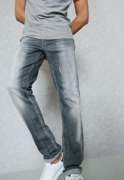 بنطال جينز سلم فيت