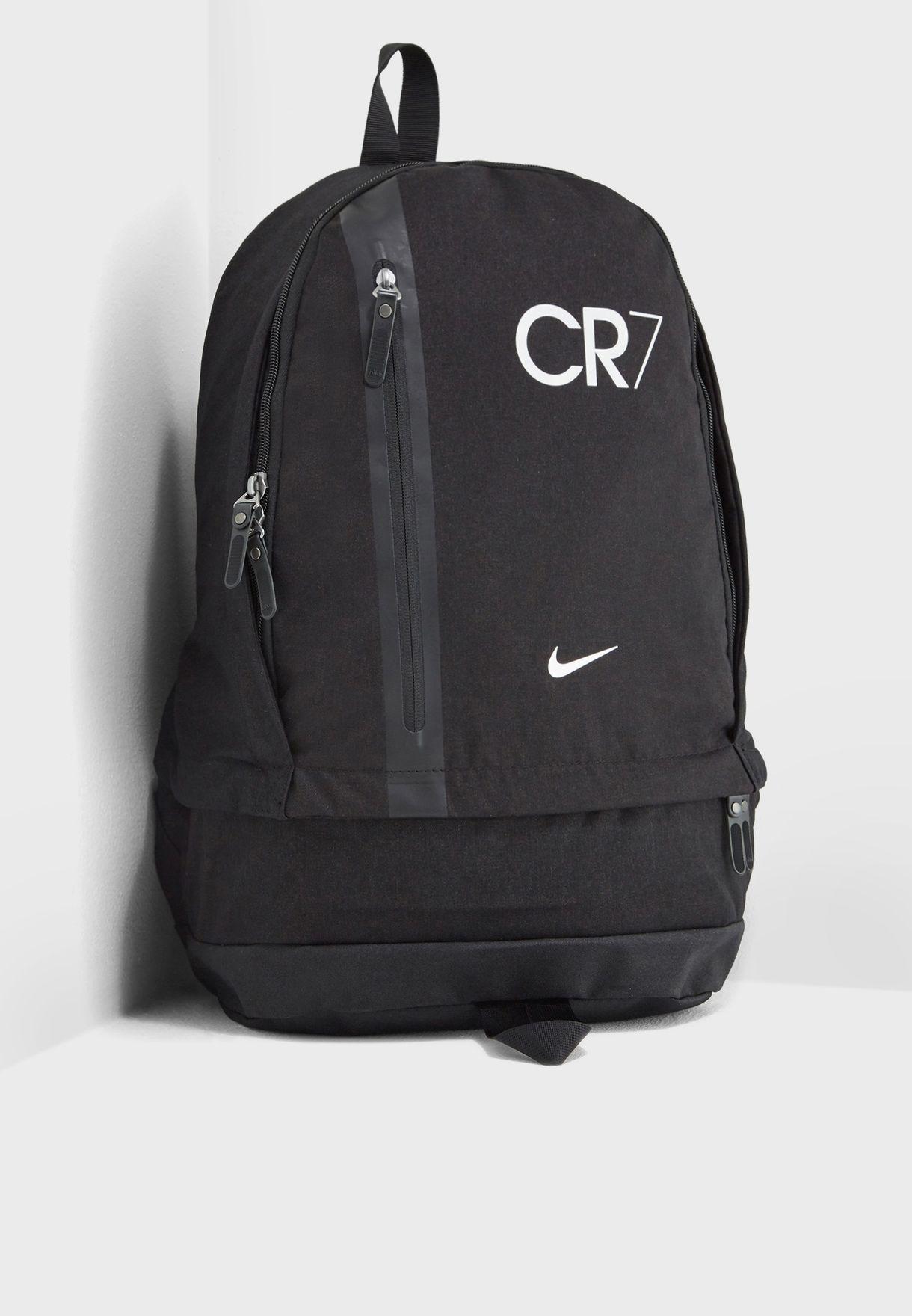 72b61755ffe8c Shop Nike black CR7 Cheyenne Backpack BA5562-010 for Men in UAE ...