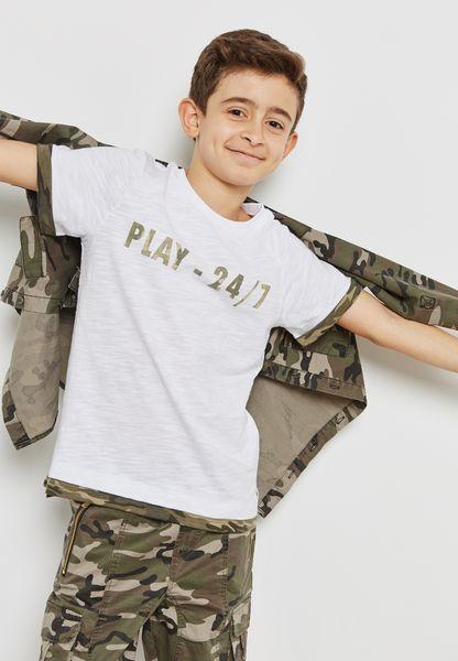 Teen Camo Play T-Shirt