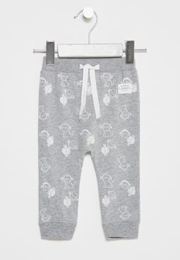 Infant Feabe Printed Sweatpants