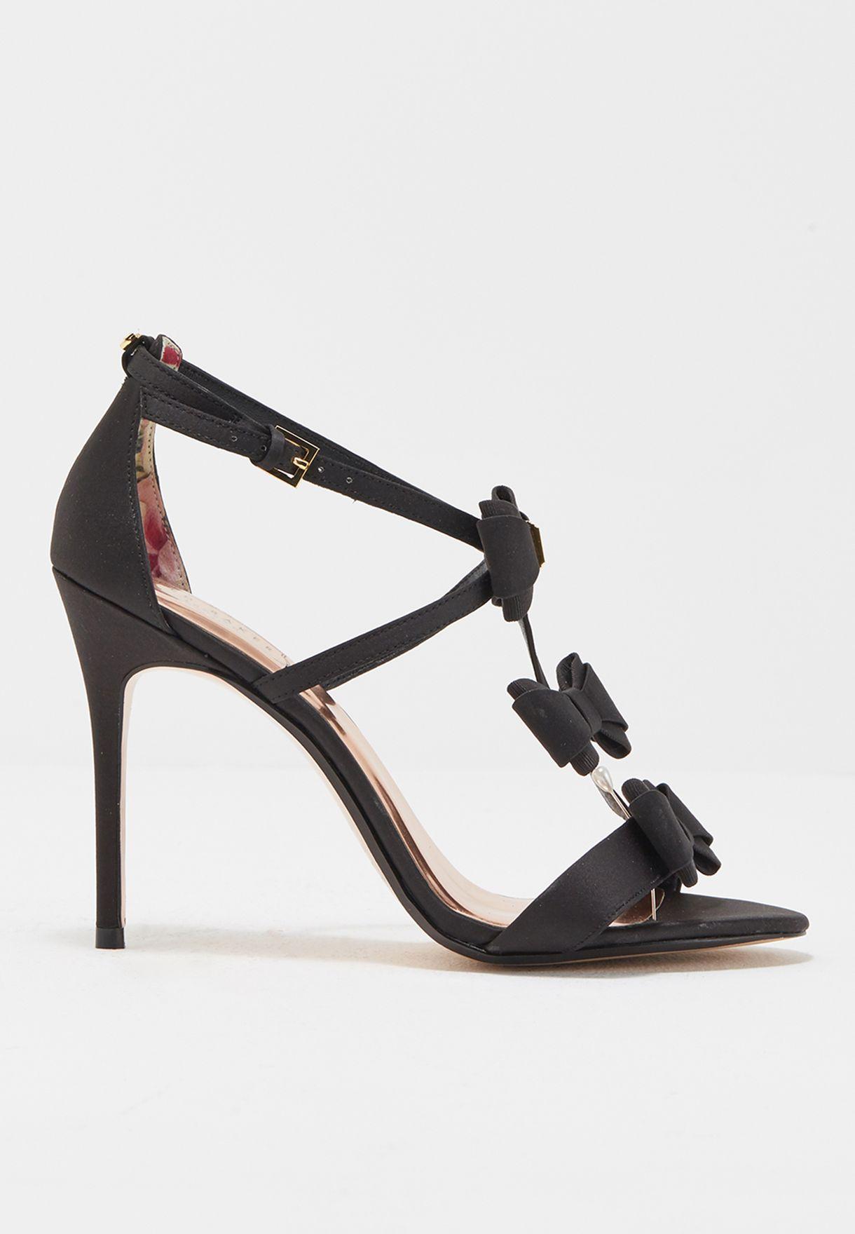 0862e33347223 Shop Ted baker black Ankle Strap Sandal APPOLINI for Women in Kuwait -  TE456SH95QCU