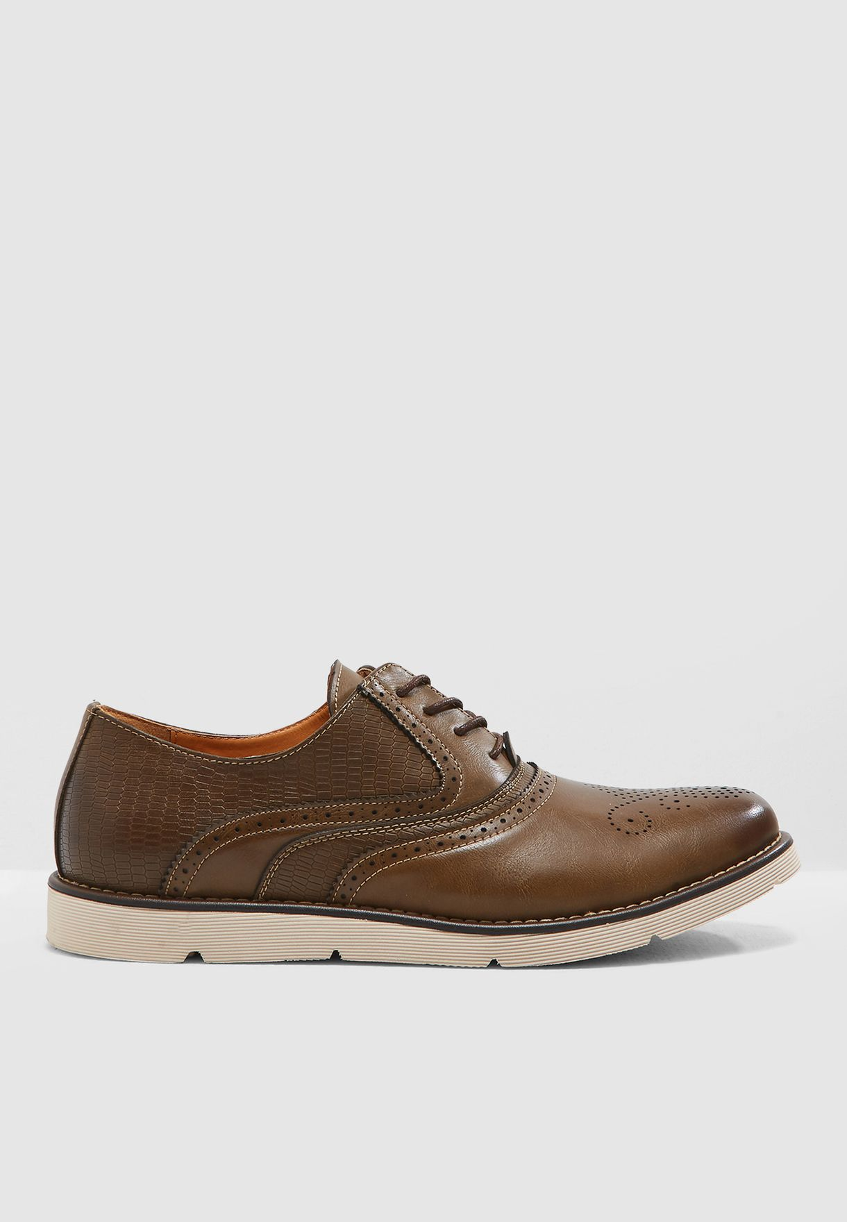 Brogue Casual Oxford Lace Ups