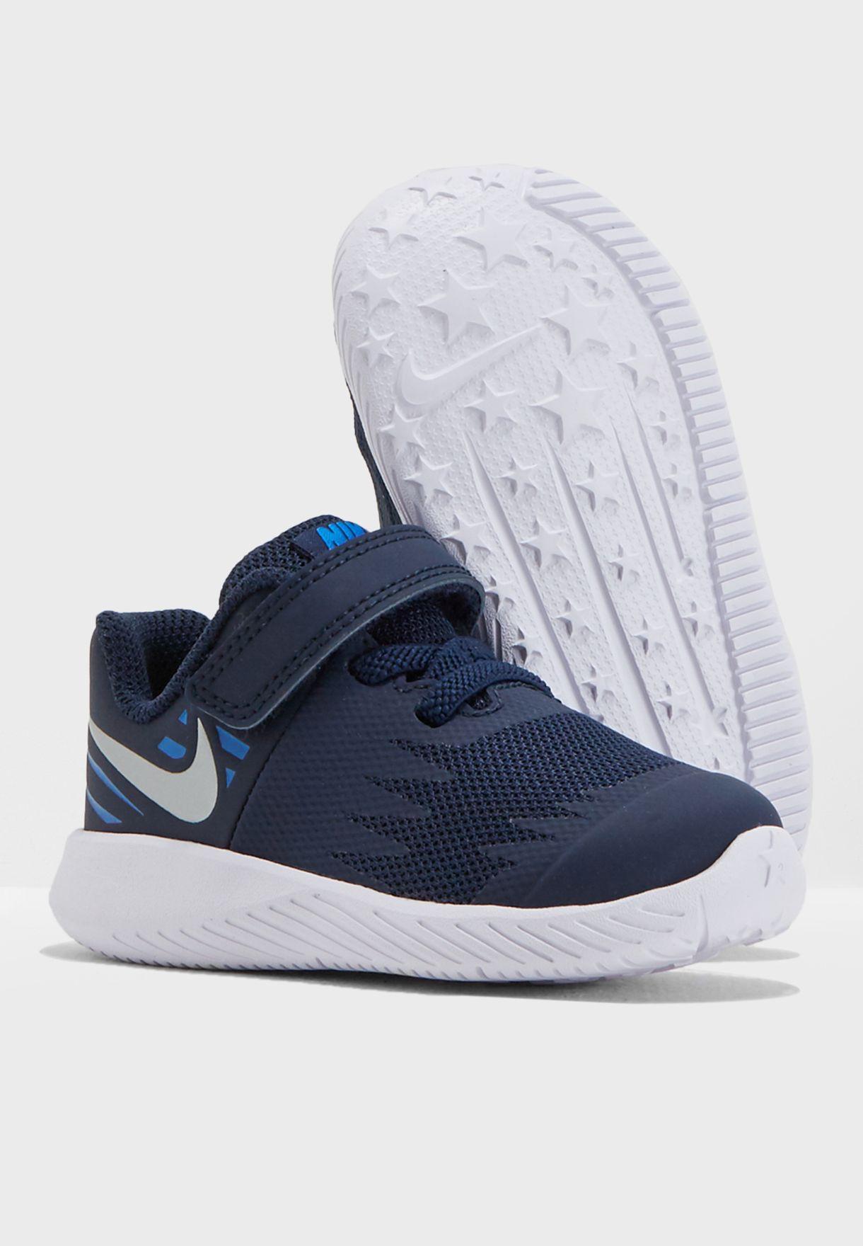 86a792bc778 Shop Nike navy Infant Star Runner 907255-406 for Kids in Globally ...