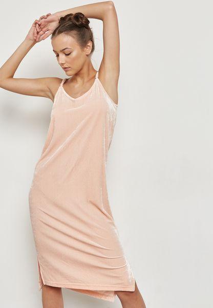 Side Slit Detail Cami Dress