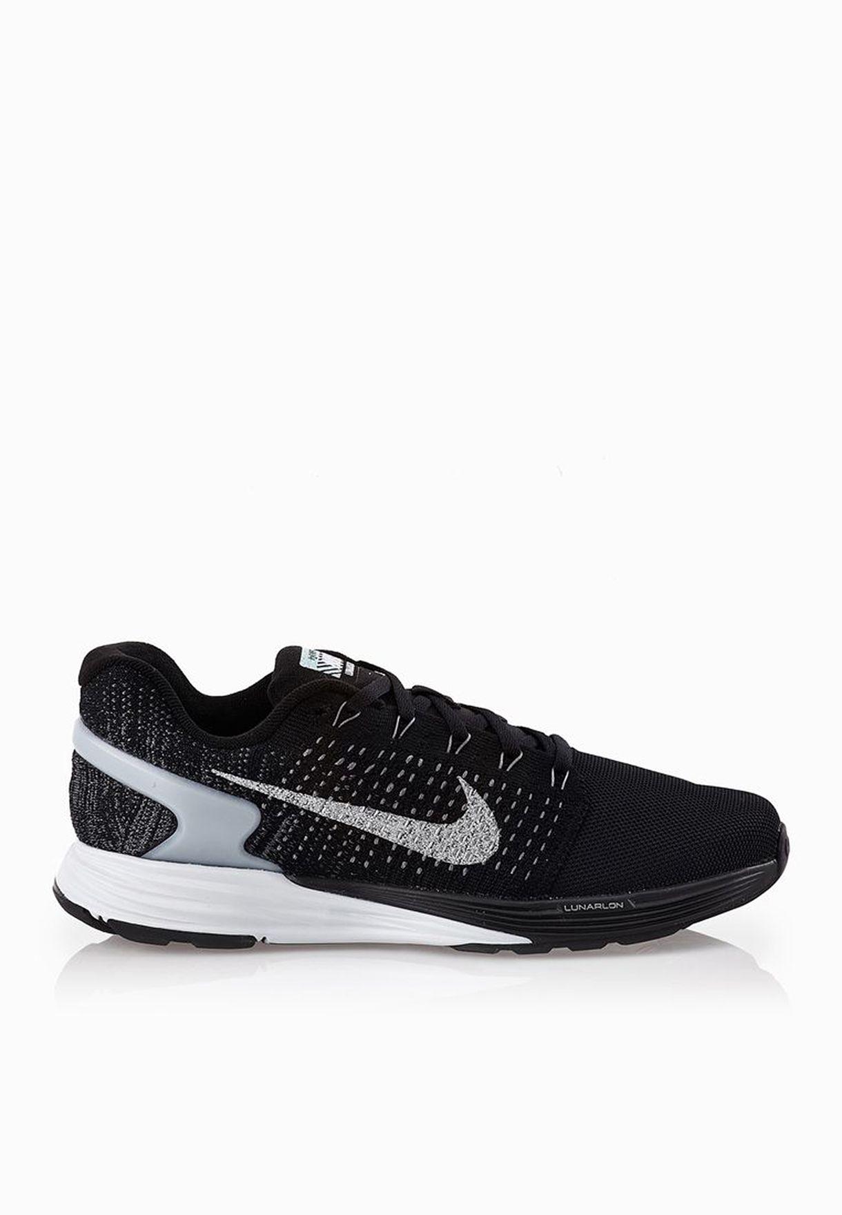 938437a9632c Shop Nike black Lunarglide 7 Flash 803567-001 for Women in UAE ...