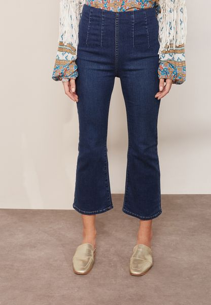 High Waist Crop Jeans